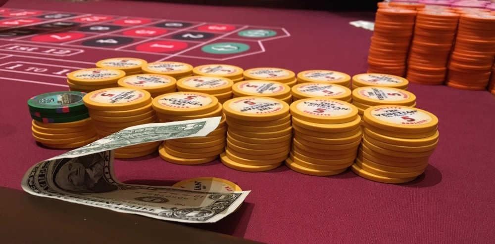 Roulette tafel Venetian Casino Las Vegas
