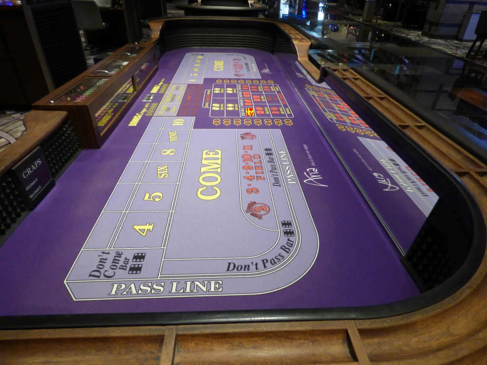 Craps in Las Vegas, I love it!