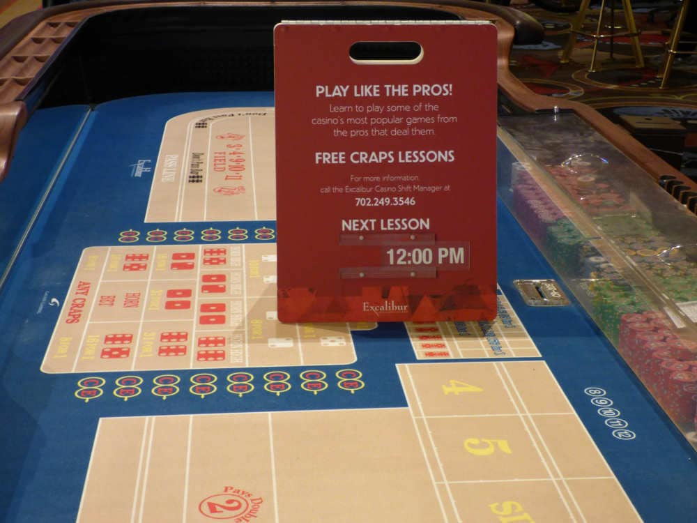 Craps lessons atlantic city