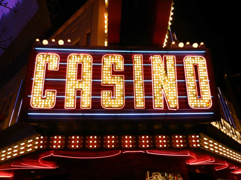Casino Sign in Las Vegas