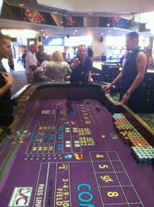 Las Vegas 2013, Craps in Las Vegas Club in Downtown Las Vegas