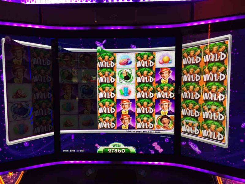Willy Wonka, World of Wonka Slot nu in het Bellagio Casino! – Primeur-