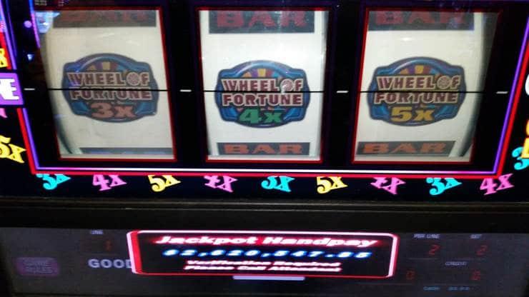 Jackpot op Wheel of Fortune slot, kerstavond 2016