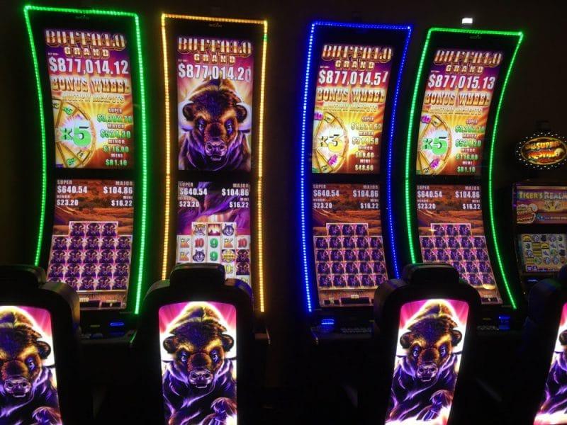 Buffalo Grand Jackpot is gevallen in het Ellis Island Casino