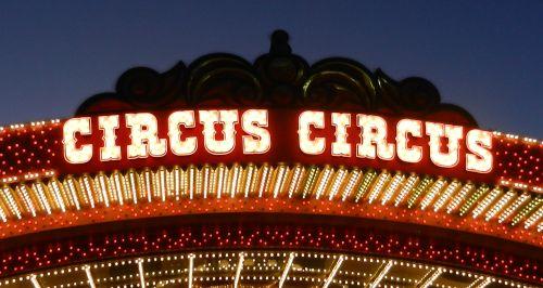 Circus Circus Hotel, inchecken en nog meer casino's bezoeken in Vegas