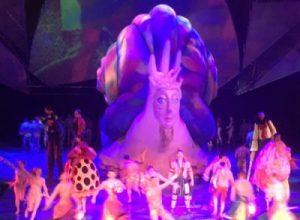 Cirque du Soleil show Mystère in Treasure Island Hotel