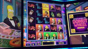 Jackpot gevallen op The Simpsons gokkast in Las Vegas