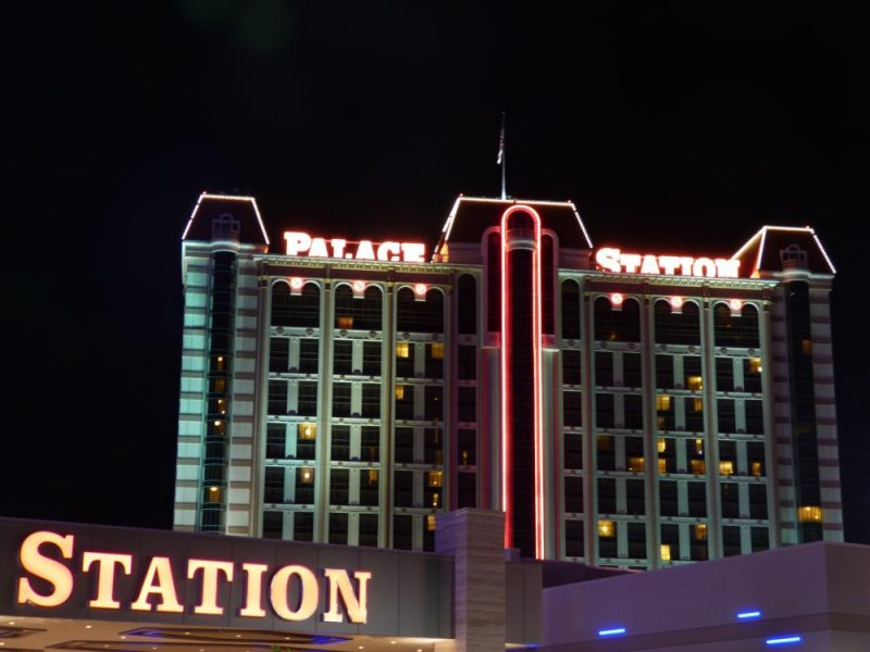 Bingo spelen in het Palace Station Casino in Las Vegas