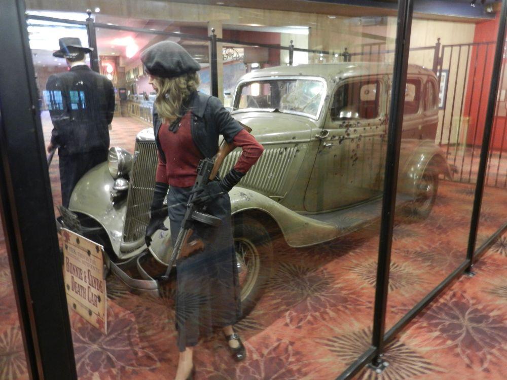 Bonnie en Clyde Death Car