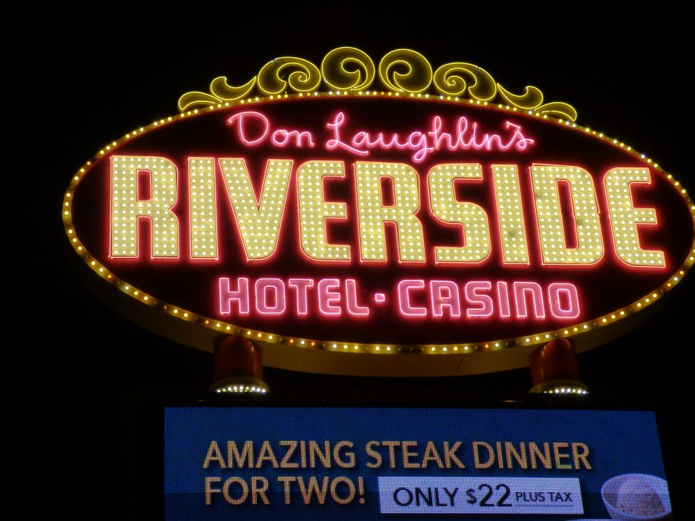 Don Laughlin's Riverside Casino Sign