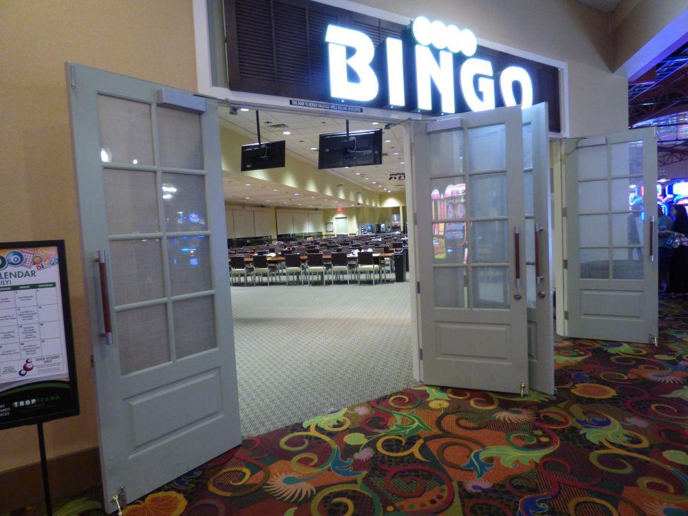 Bingo Zaal Tropicana Casino