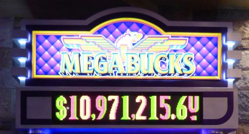 MegaBucks jackpot en Wheel of Fortune Jackpots gevallen in Las Vegas