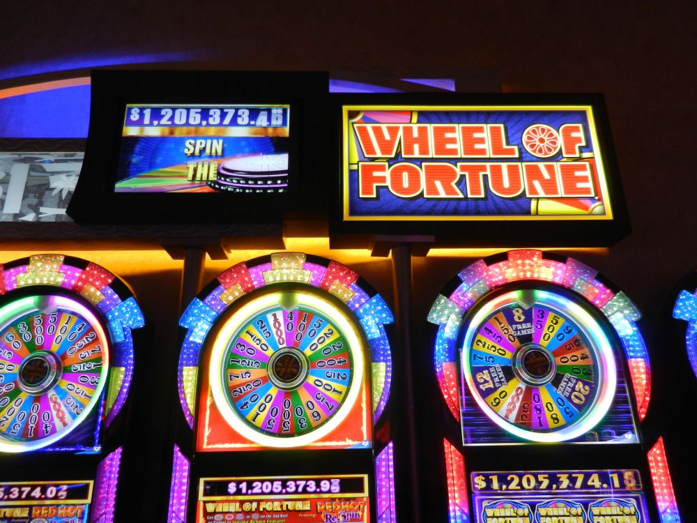 Wheel of Fortune gokkasten in Las Vegas