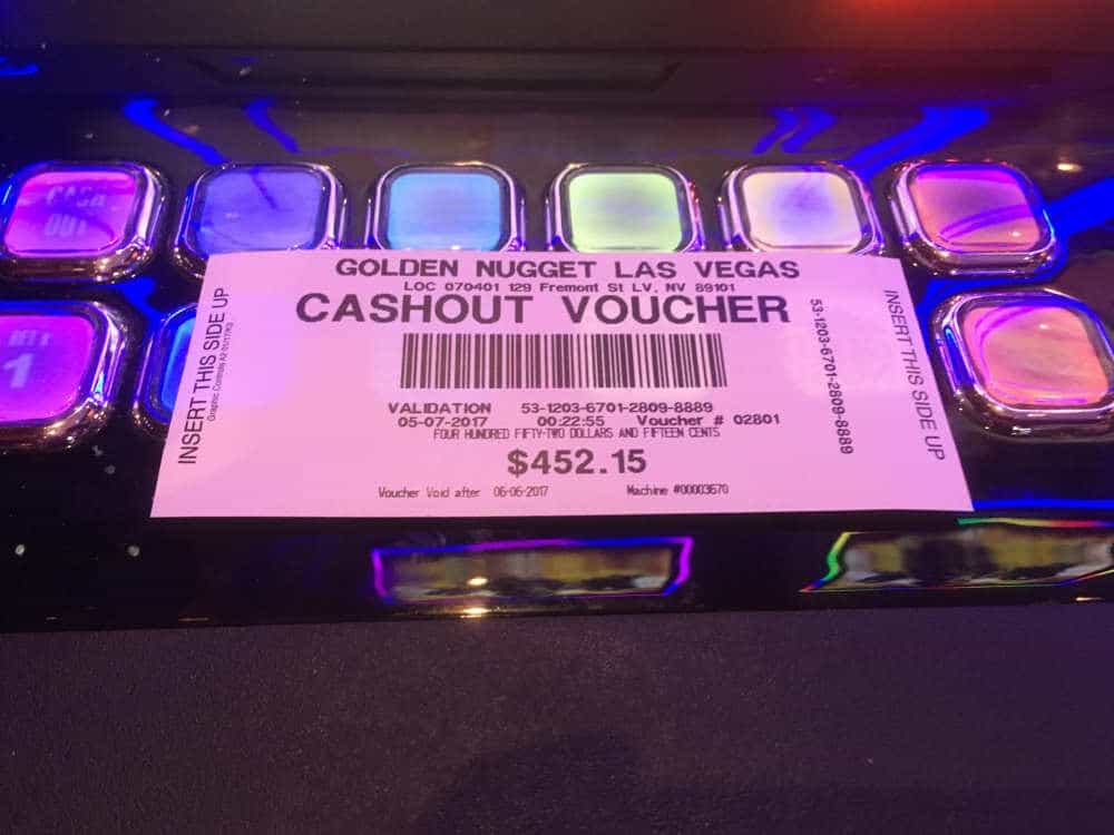 Eindelijk een leuke Cashout!