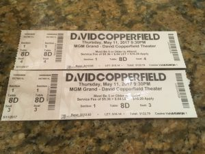 LasVegasNic ontmoet David Copperfield in Las Vegas