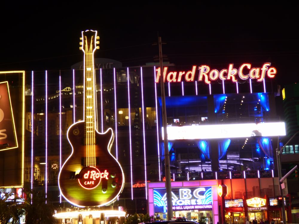 Hard Rock Café in Las Vegas