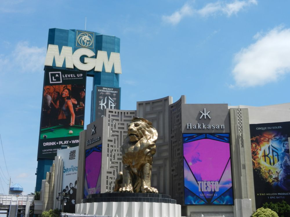 MGM Grand Hotel en Casino in Las Vegas