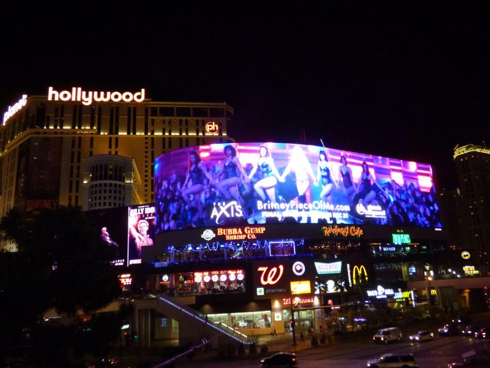 gave concerten in Planet Hollywood Hotel en Casino in Las Vegas