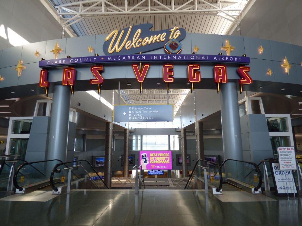 McCarran International Airport, je bent in Las Vegas