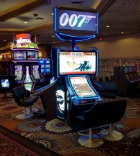 James Bond gokkast Thunderball in het MGM Grand Casino, Primeur!