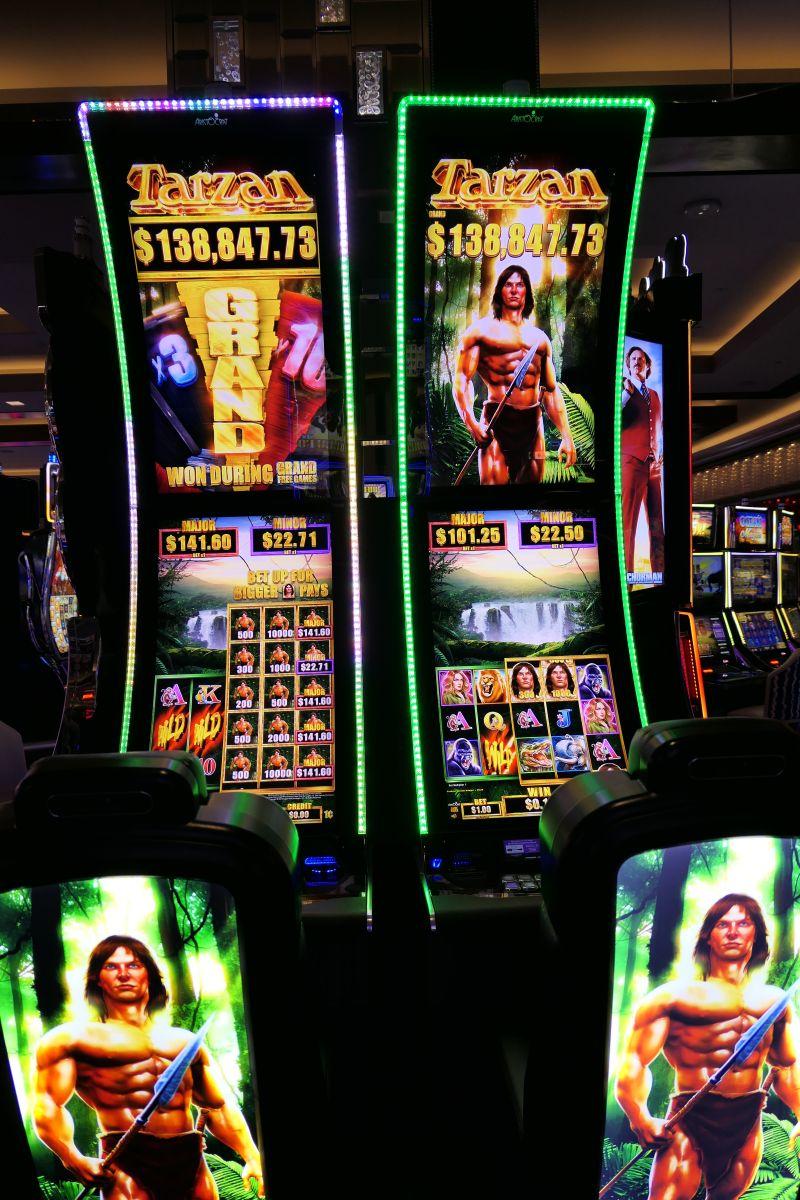 Tarzan gokkast in het Cosmopolitan Casino