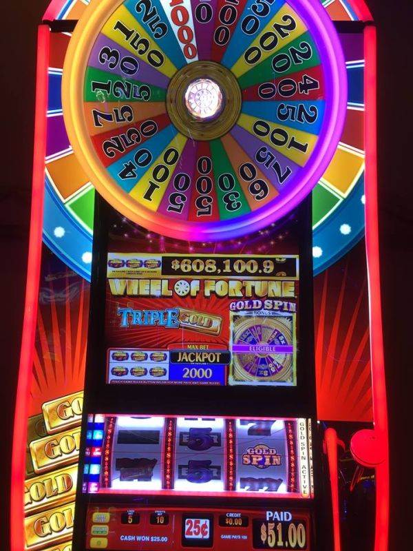 Wheel of Fortune Triple Gold gokkast met Gold Spin