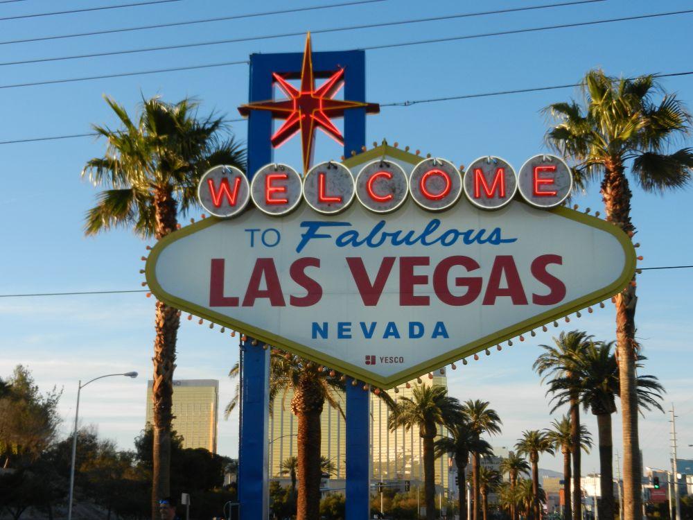 Het beroemde Las Vegas Sign