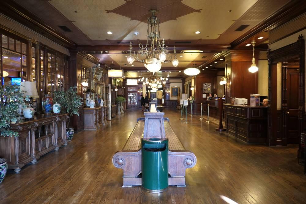 Lobby Main Street Station Hotel