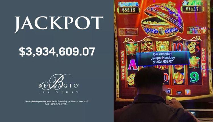 jackpot bellagio casino las vegas